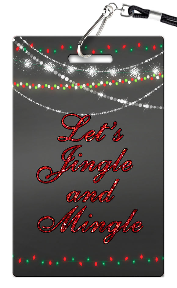 Christmas Party Birthday Invitations