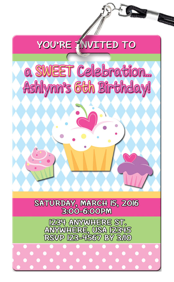 Birthday Invitations Page 4