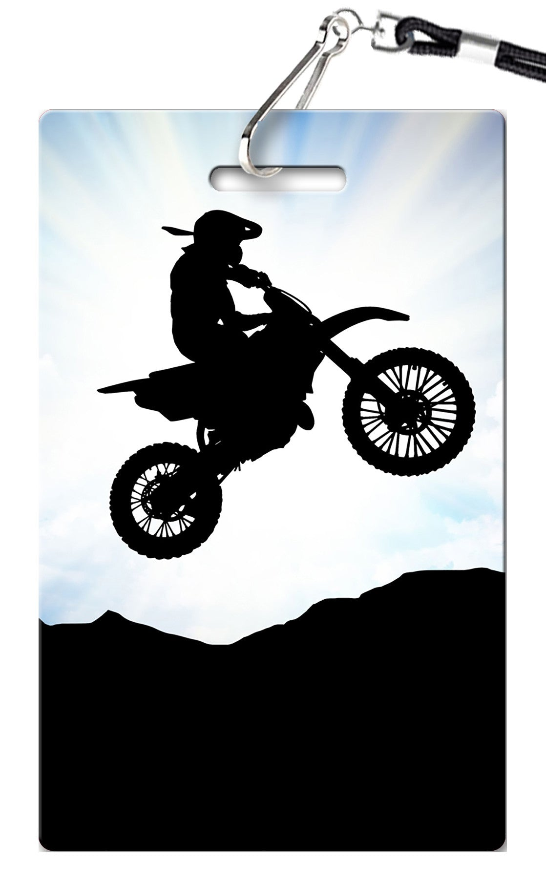Dirt Bike Birthday Invitations - PVC Invites - VIP Birthday Invitations