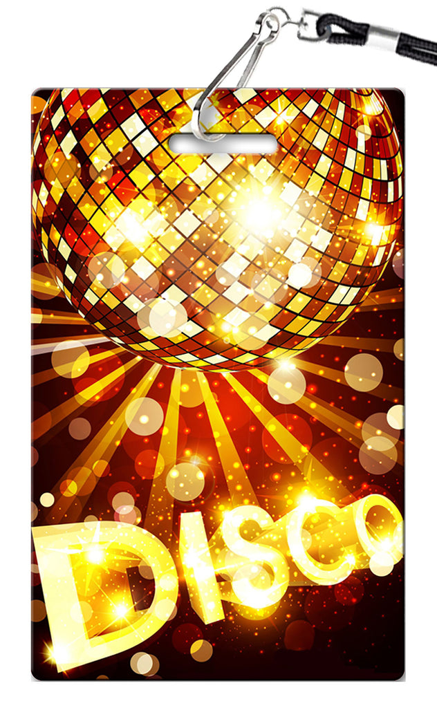 Disco Ball Birthday Invitation