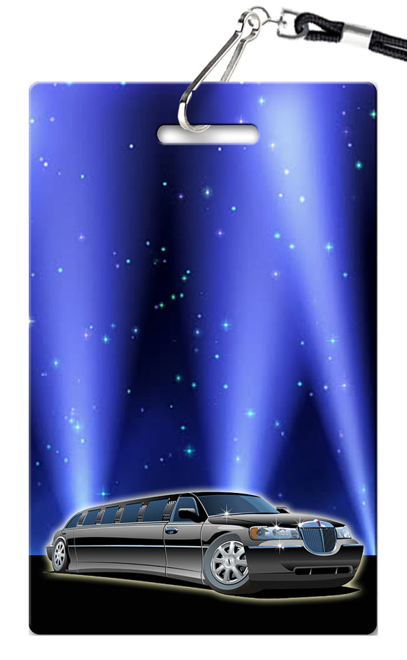 Limo Birthday Invitation