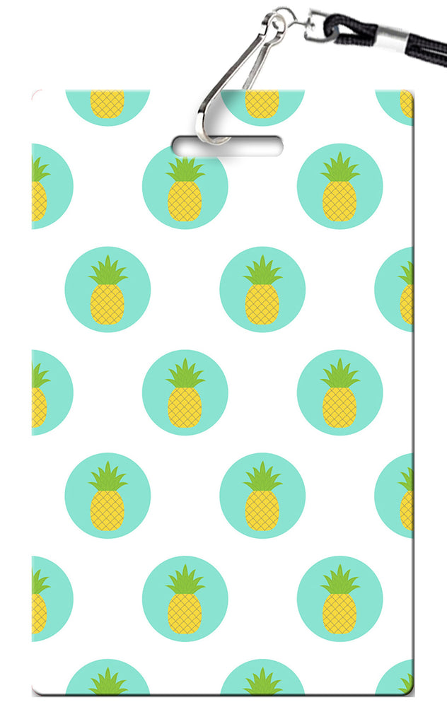 Pineapple Birthday Invitations