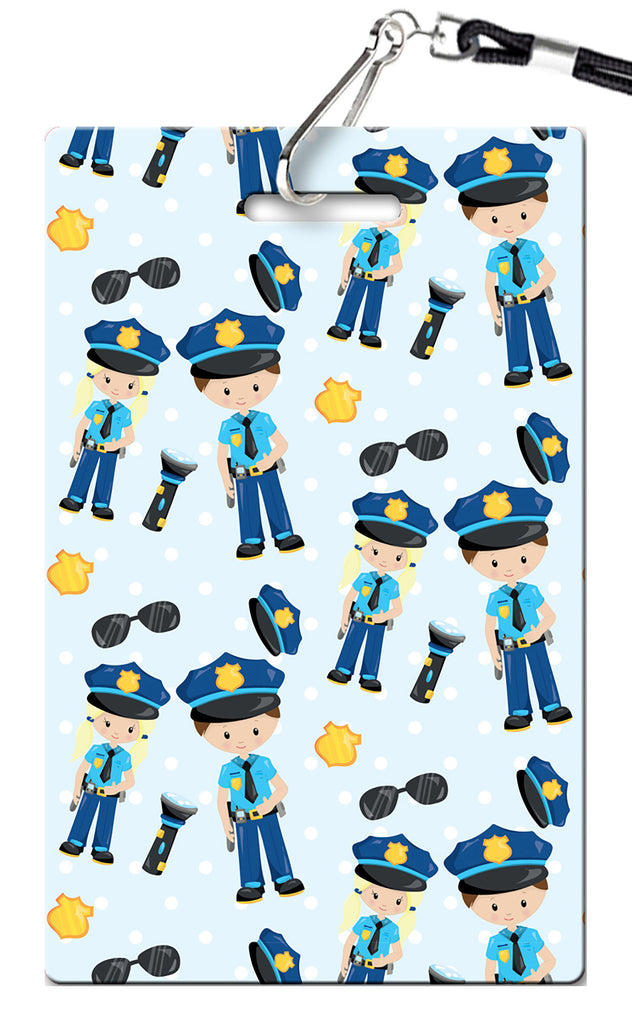Police Birthday Invitation