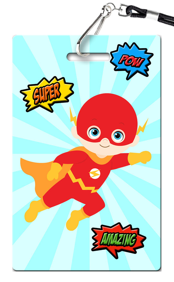 Superhero Birthday Invitation