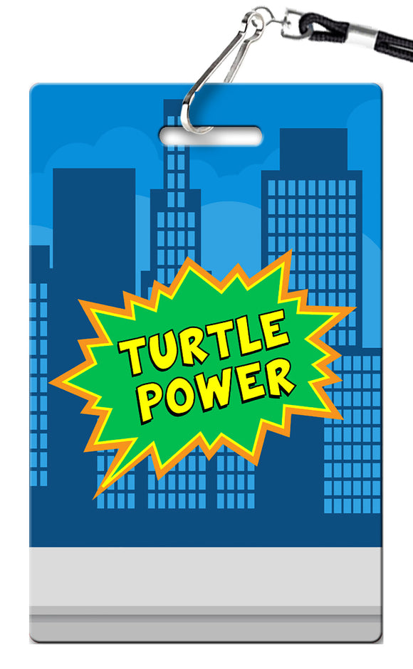 Teenage Mutant Ninja Turtles Birthday Invitation