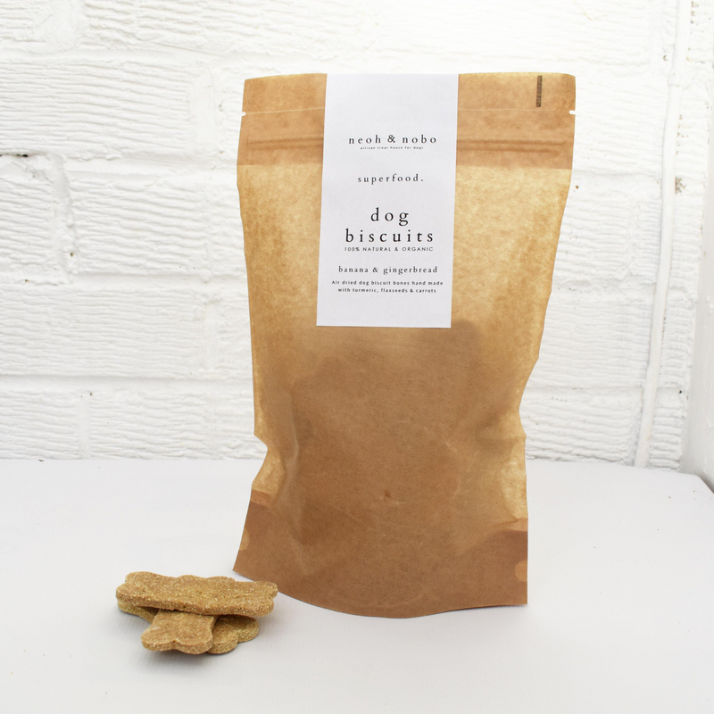 Banana + Gingerbread Dog Biscuits - 300g