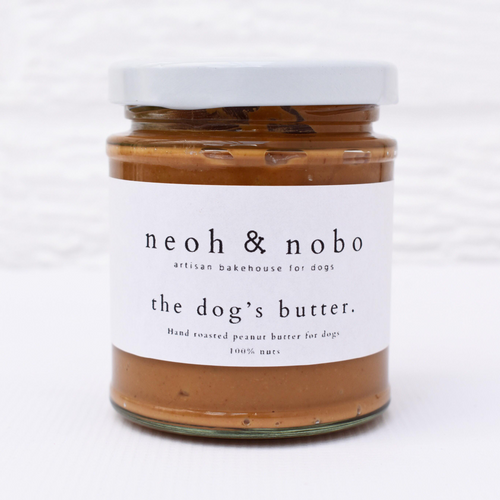 The Dog's Butter - Peanut Butter For Dogs