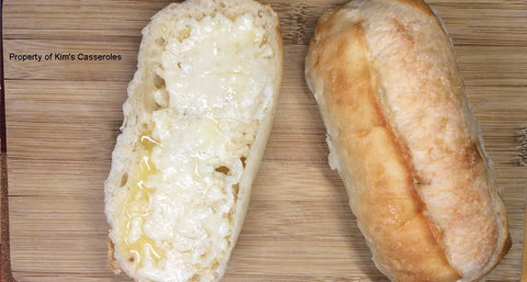 Kim's fresh bread is a perfect addition to any entree'!