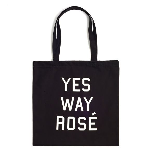 Yes Way Rosé Black Toté