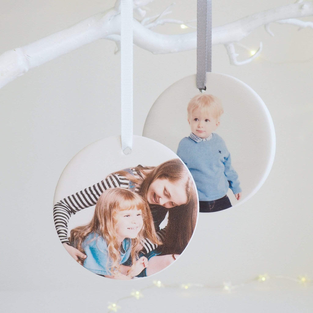 Ceramic Photo Hanging Decoration Keepsake