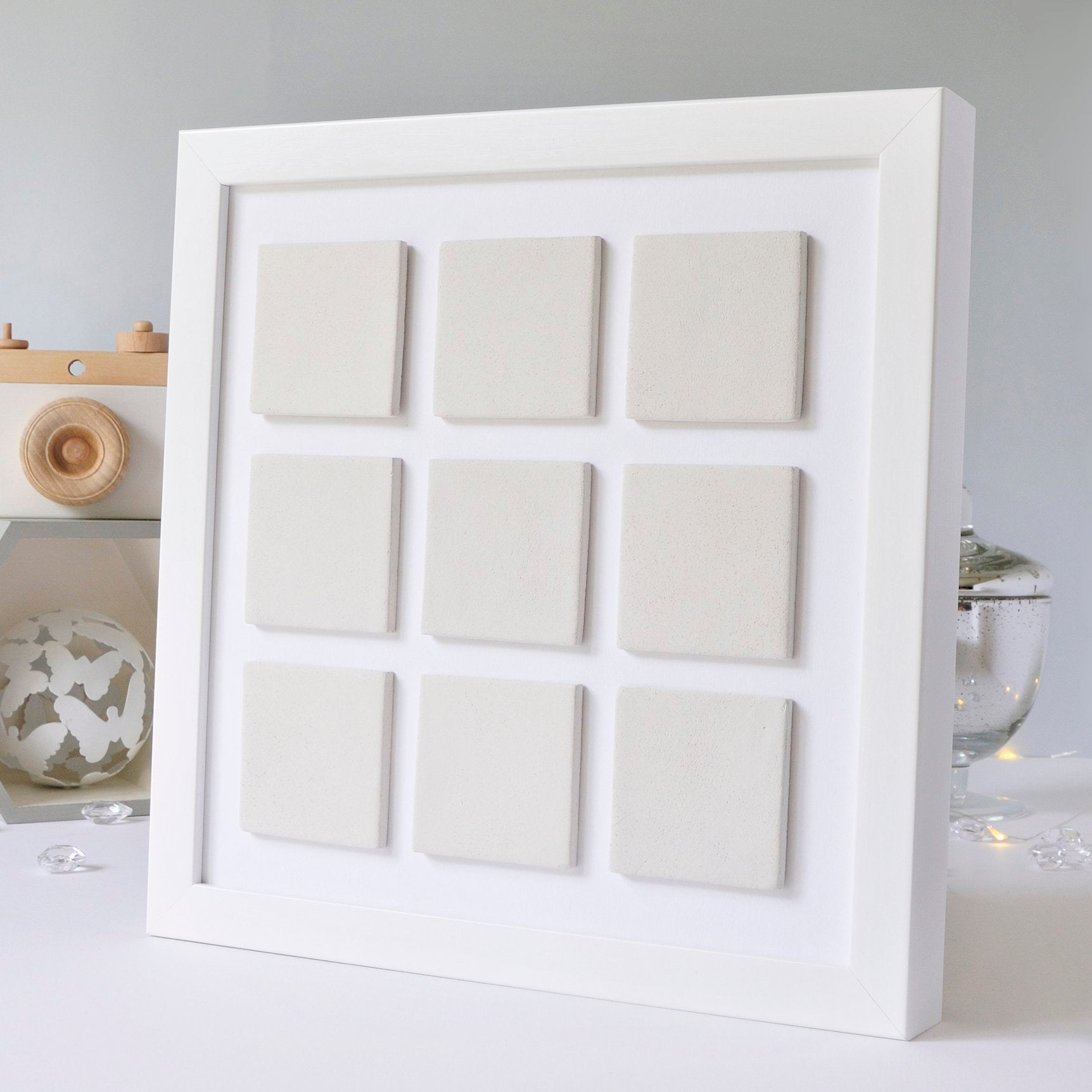 Design Your Own Clay Tiled Memory Frame