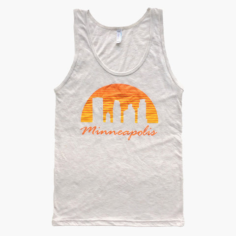 Minneapolis Sunset Tank Top - MSP Clothing