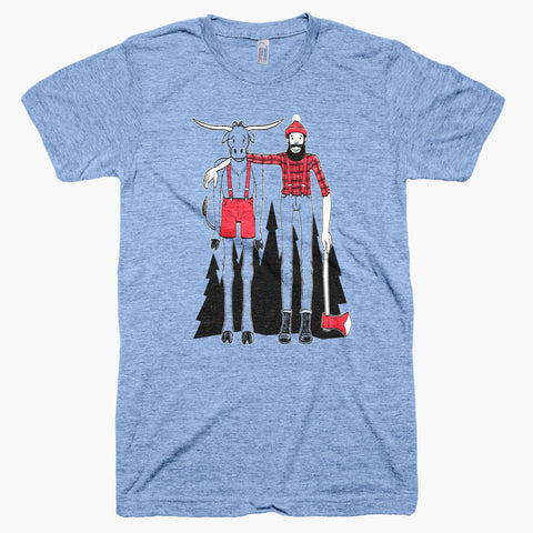 Paul Bunyan & Babe T-Shirt - MSP Clothing