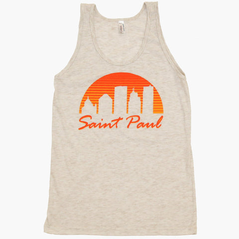 Saint Paul Sunset Tank Top - MSP Clothing
