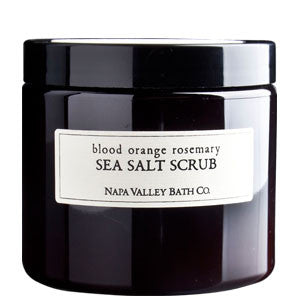 Blood Orange Rosemary Dead Sea Salt Scrub