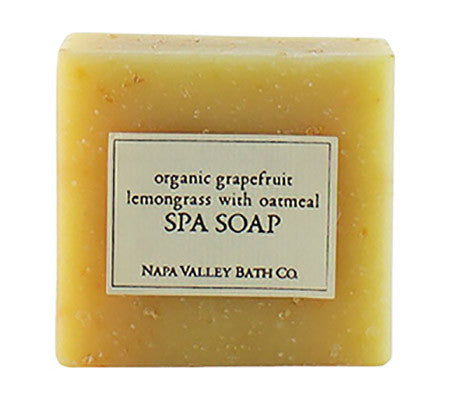 Organic Grapefruit Lemongrass with Oatmeal Spa Soap