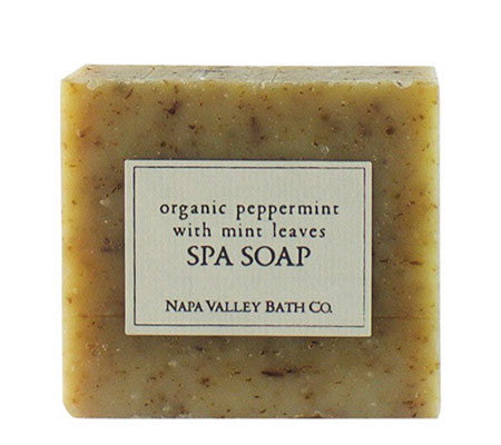 Organic Peppermint with Mint Leaves