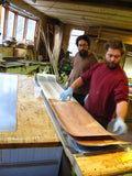 Ian and Nick started Lucid Skis