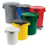 round trash cans - Commercial Trash Cans
