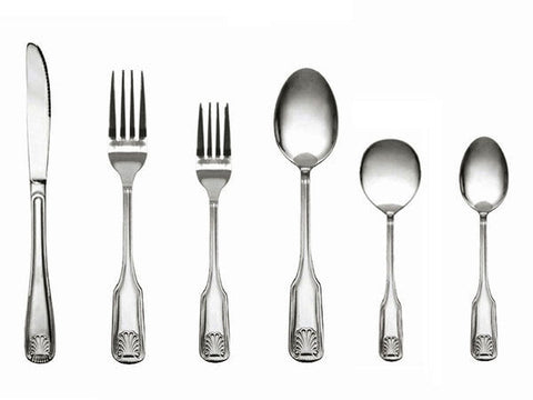 Sea Shell Flatware Heavy Weight 18/0 Stainless Steel