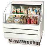 Turbo Air TOM-30S Open Display Merchandiser - Champs Restaurant Supply | Wholesale Restaurant Equipment and Supplies
