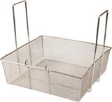 "FMP 17"" x 17"" x 6-1/4"" Two Handled Fry Basket"