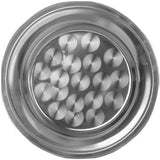 "Thunder Group SLCT018 Stainless Steel 18"" Round Tray - Champs Restaurant Supply 
