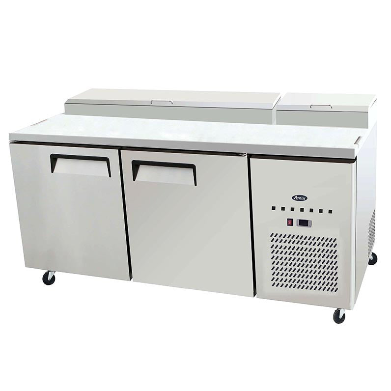 Atosa MPF Double Door Pizza Prep Table Champs Restaurant - Restaurant supply prep table