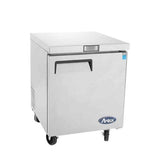 "Atosa MGF8401 28"" Single Door Undercounter Refrigerator"