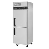 "Turbo Air M3R24-2-N 28"" Double Half Door Reach-In Refrigerator"