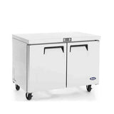 "Atosa MGF8406 48"" Double Door Undercounter Freezer"