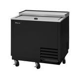 Turbo Air TBC-36SB-GF-N Sliding Door Underbar Black Glass Froster