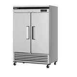 "Turbo Air TSF-49SD-N Super Deluxe 54"" Double Door Reach-In Freezer"