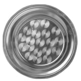 "Thunder Group SLCT012 Stainless Steel 12"" Round Tray - Champs Restaurant Supply 