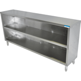 "BK Resources BKDC-1848 48"" x 18"" Stainless Steel Dish Cabinet"
