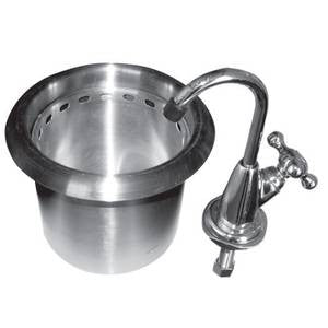 523ef588d60 HS-DSROG Drop-In Round Dipperwell Sink w  NO LEAD Faucet – Champs  Restaurant Supply