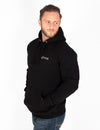 HEAVYWEIGHT PULLOVER HOODIE - JET BLACK - Rise Above Fear, High Performance Activewear, Sportswear
