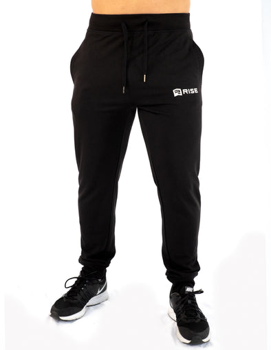 TAPERED JOGGERS - BLACK