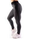 HIGH PERFORMANCE SEAMLESS LEGGINGS - BLACK
