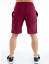 ACTIVE SHORTS - BURGUNDY