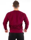 SIGNATURE MEN'S SWEATSHIRT - BURGUNDY