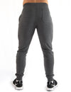 TAPERED JOGGERS - GREY MARL