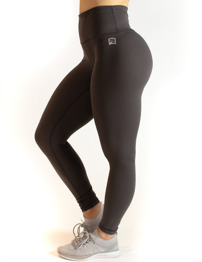 HIGH RISE SUPER SOFT LEGGINGS - DARK GREY