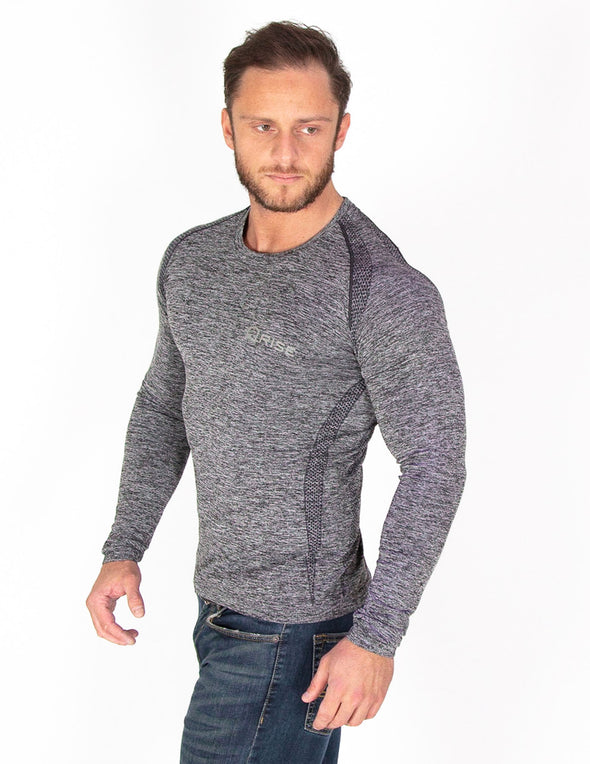 SEAMLESS '3D FIT' HIGH PERFORMANCE LONG SLEEVE TOP - Rise Above Fear, High Performance Activewear, Sportswear
