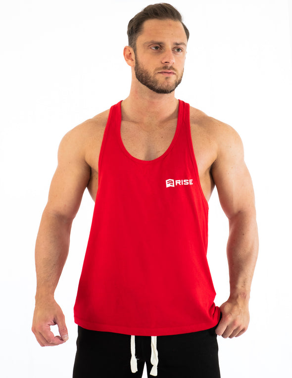 PREMIUM MEN'S STRINGER - RED