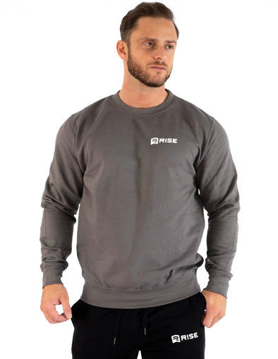 SIGNATURE MEN'S SWEATSHIRT - STEEL GREY