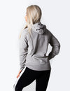 SIGNATURE PULLOVER HOODIE - LIGHT GREY MARL - Rise Above Fear, High Performance Activewear, Sportswear