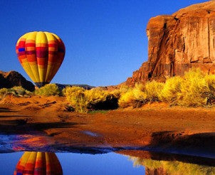 Balloon Flight over The Grand Canyon