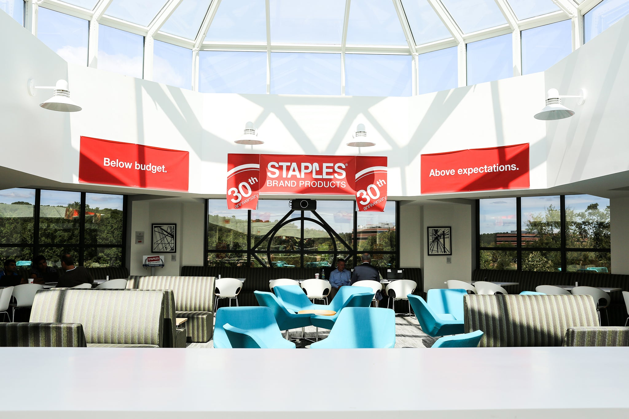 In 2014, Staples bought ArtLifting artworks for their Headquarters in Framingham, MA.
