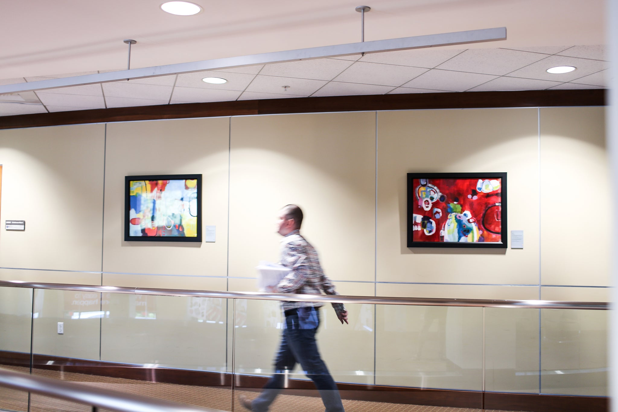 """I have seen the artwork produce a lot of energy…When you put a picture on the wall with an incredible story, it generates a lot of interest."" -- John Burke, Chief Culture Officer"